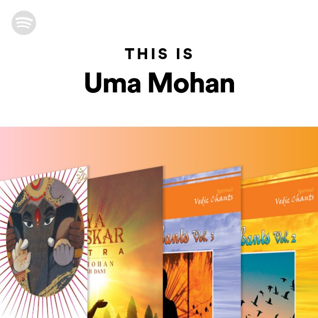 This Is Uma Mohan on Spotify