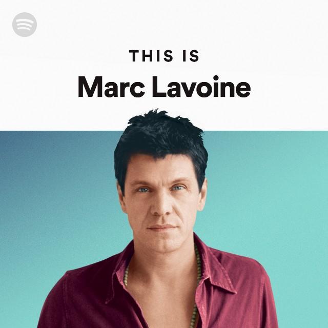 Marc Lavoine Spotify